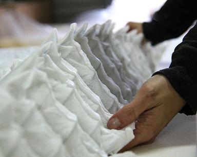 Handmade in Belgium binnenkant matras