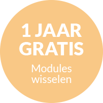 1 jaar gratis modules wisselen