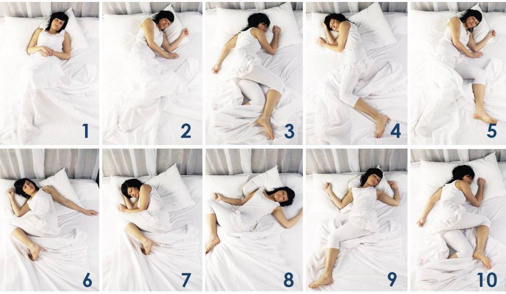 De beste slaaphouding voor een goede nachtrust