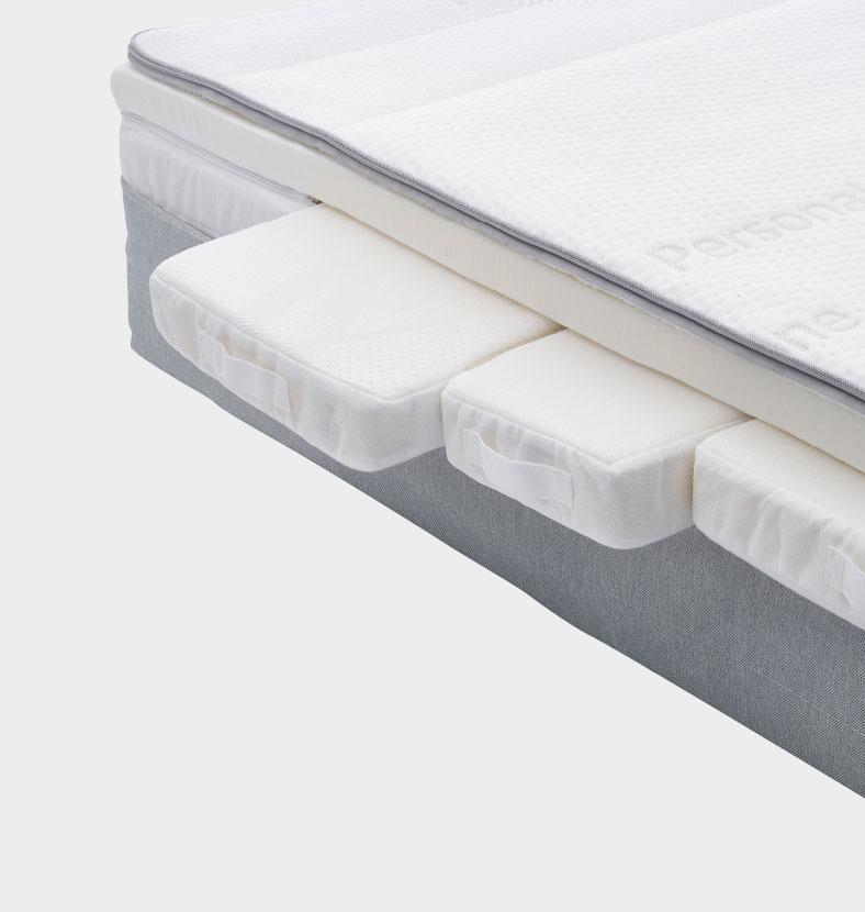 Equilli doorsnede matras ondersteuning