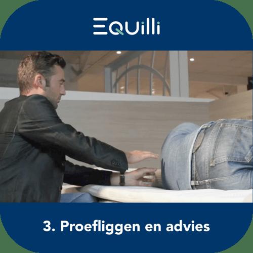Proefliggen en advies 3de stap