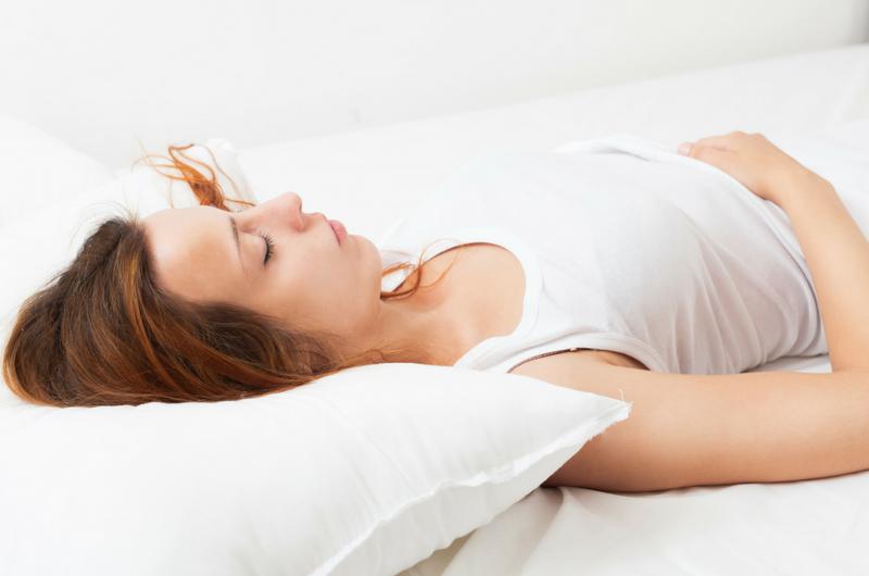 Hoe slapen met een hernia?