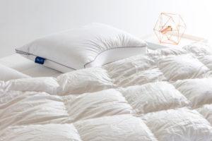 Equilli dekbed op matras met kussen