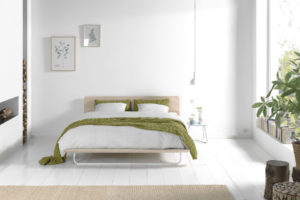 Less bed nature kamer