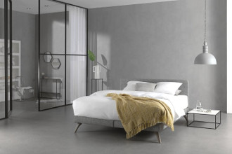 Balance boxspring in kamer